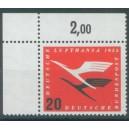 Mi. Nr. 208 im Eckrand links oben mit A-Zähnung postfrisch