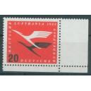 Mi. Nr. 208 im Eckrand rechts unten mit Afa-Zähnung postfrisch