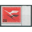 Mi. Nr. 208 im Eckrand rechts unten mit H-Zähnung postfrisch