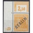 Mi. Nr. 10 mit neg. Druckerzeichen 8, postfrisch