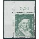 Mi. Nr. 204 im Eckrand links oben mit Bc-Zähnung postfrisch
