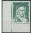 Mi. Nr. 204 im Eckrand links unten mit Bk-Zähnung postfrisch