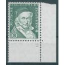 Mi. Nr. 204 im Eckrand rechts unten mit B-Zähnung und Fn 1
