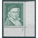 Mi. Nr. 204 im Eckrand rechts unten mit B-Zähnung und Fn s2a1