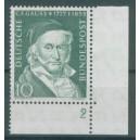 Mi. Nr. 204 im Eckrand rechts unten mit B-Zähnung und Fn s1a2