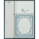 Mi. Nr. 210 Eckrand links oben mit Passerkreuz