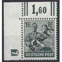 Mi. Nr. 7 im Eckrand links oben mit neg. Druckerzeichen 7 postfrisch