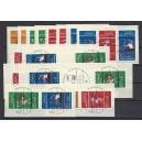 Alle Olympia-Zusammendrucke aus MHB 17 Luxus Sonderstempel