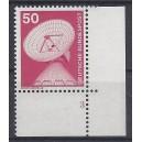 Mi. Nr. 851 Eckrandstück unten rechts mit Formnummer 3 mit T-Zähnung